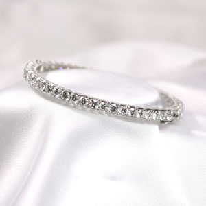 10 Ct Diamond Bangle Bracelet